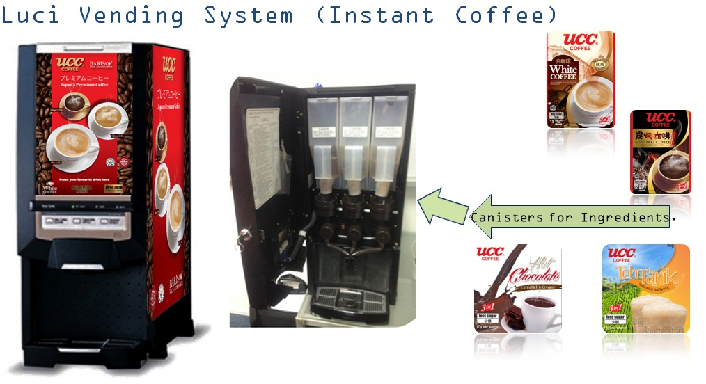 Luci Coffee Vending Machine