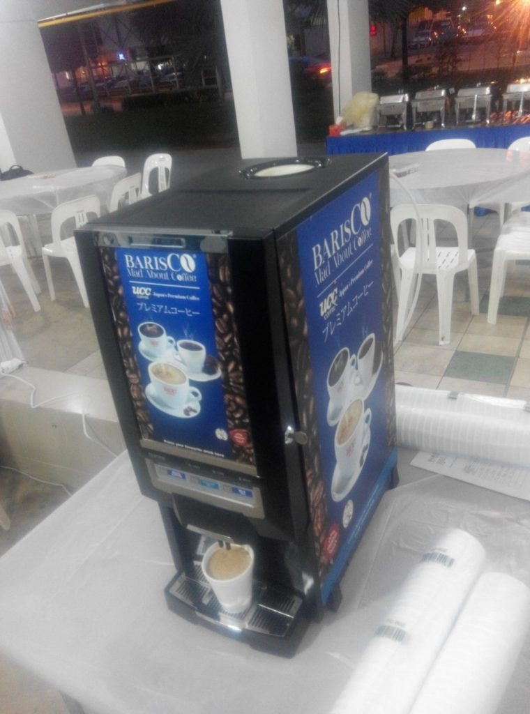 Coffee Machine Rental - Funeral Wake