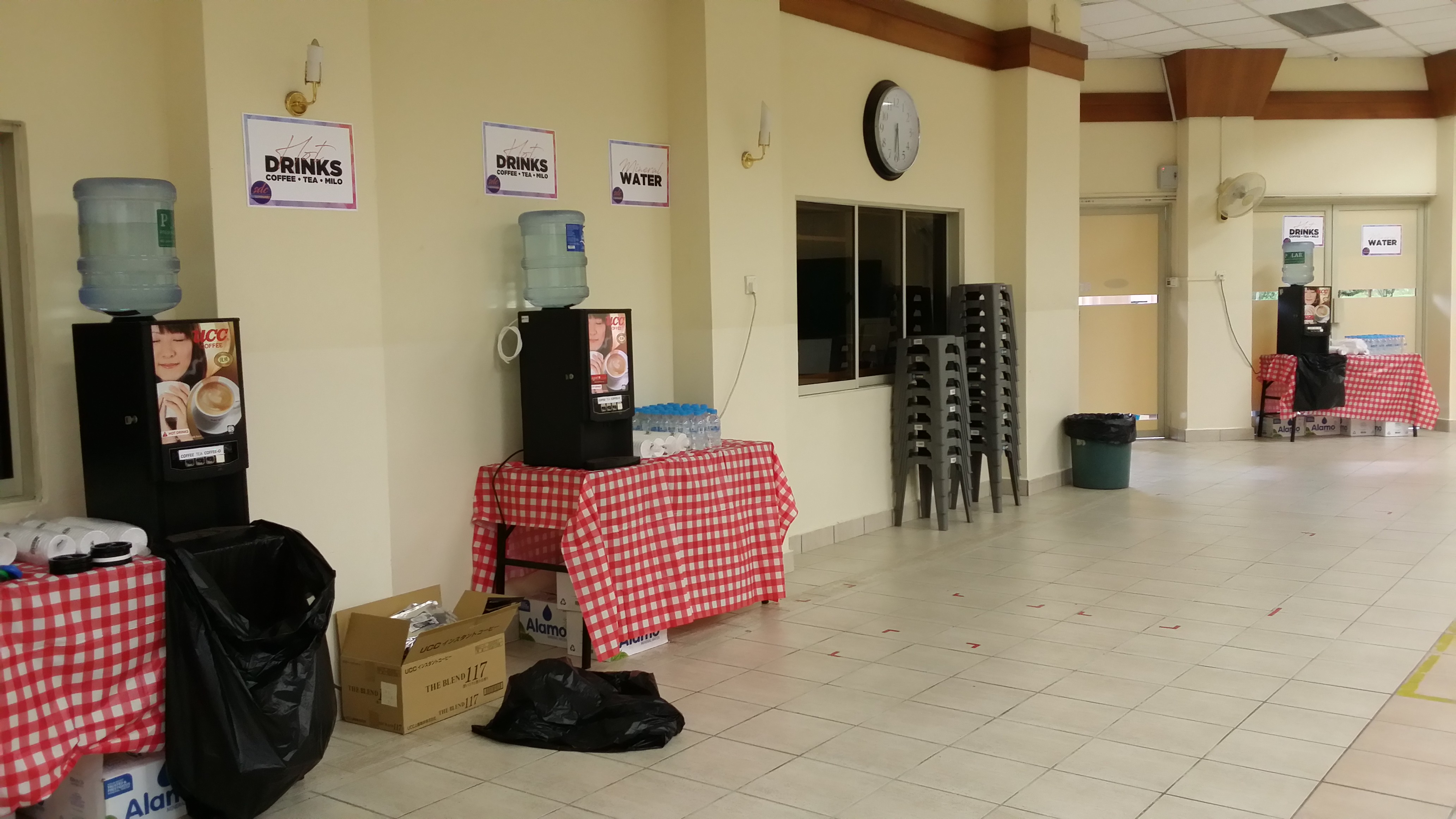 8 Coffee Machines Rented for a large scale Church Event