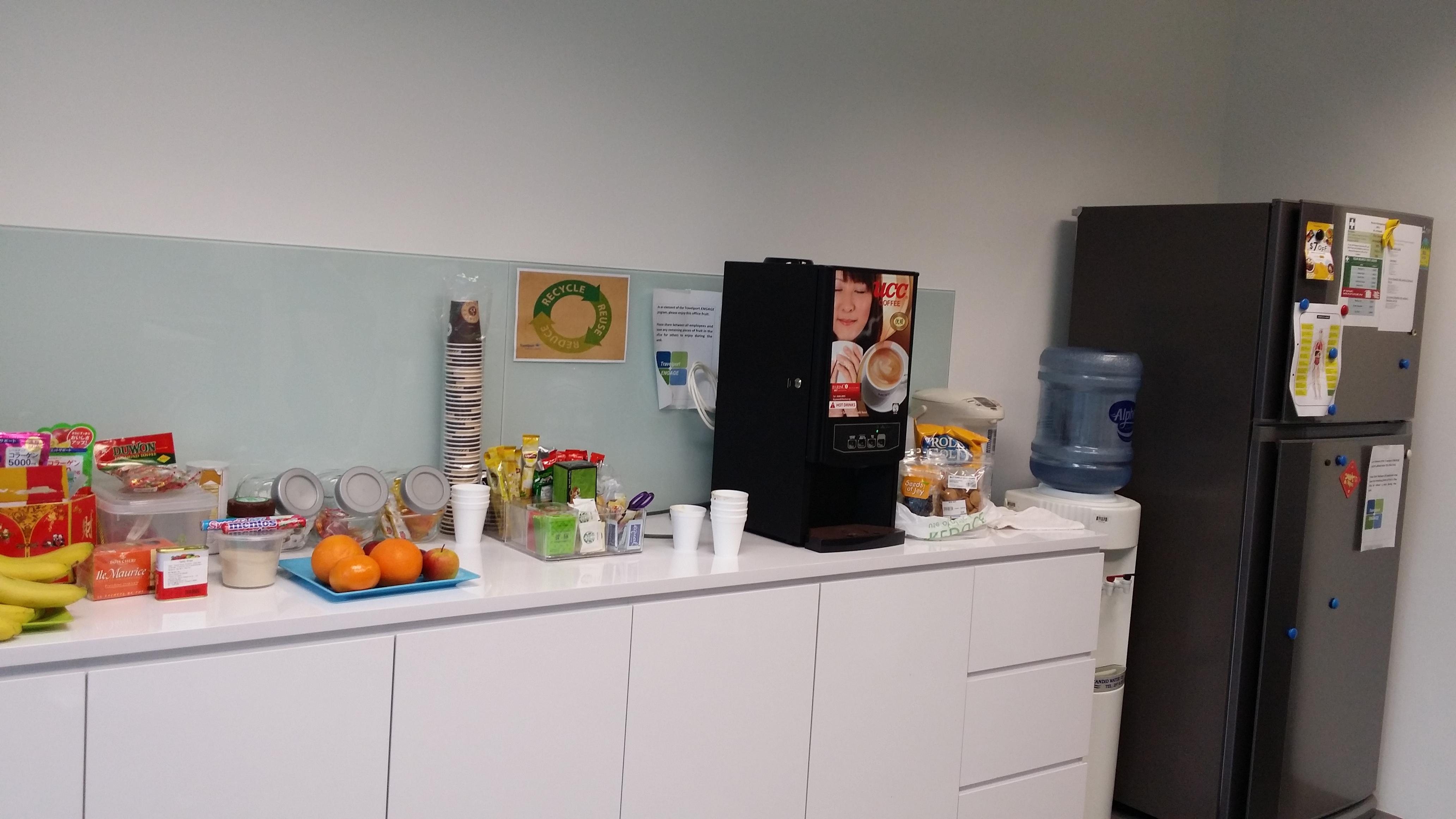 Coffee Machine @ MNC Office Pantry