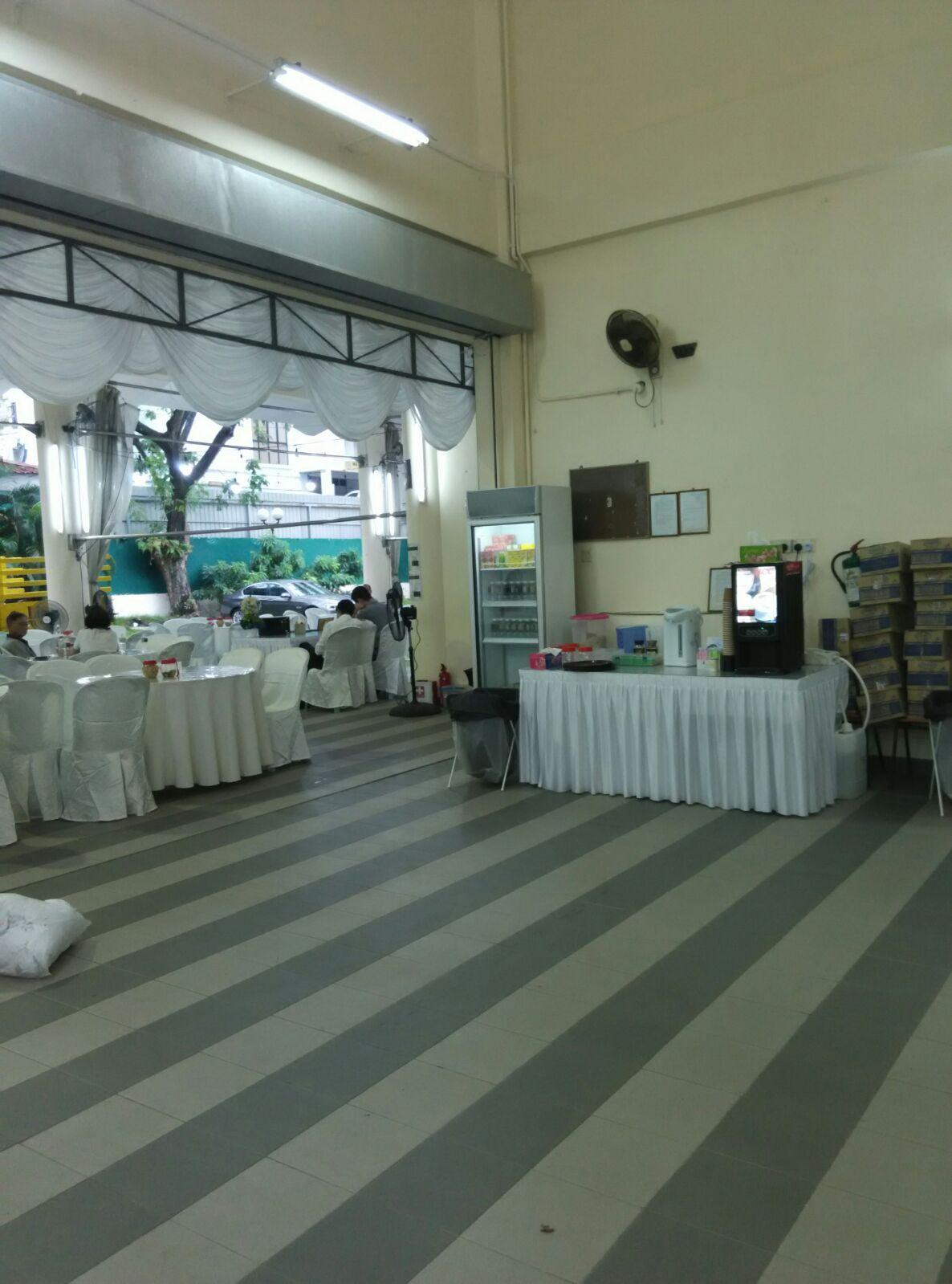 Coffee Machine Rental At Teochew Parlour