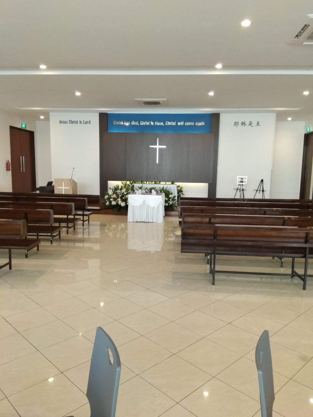 The Garden of Remembrance Chapel
