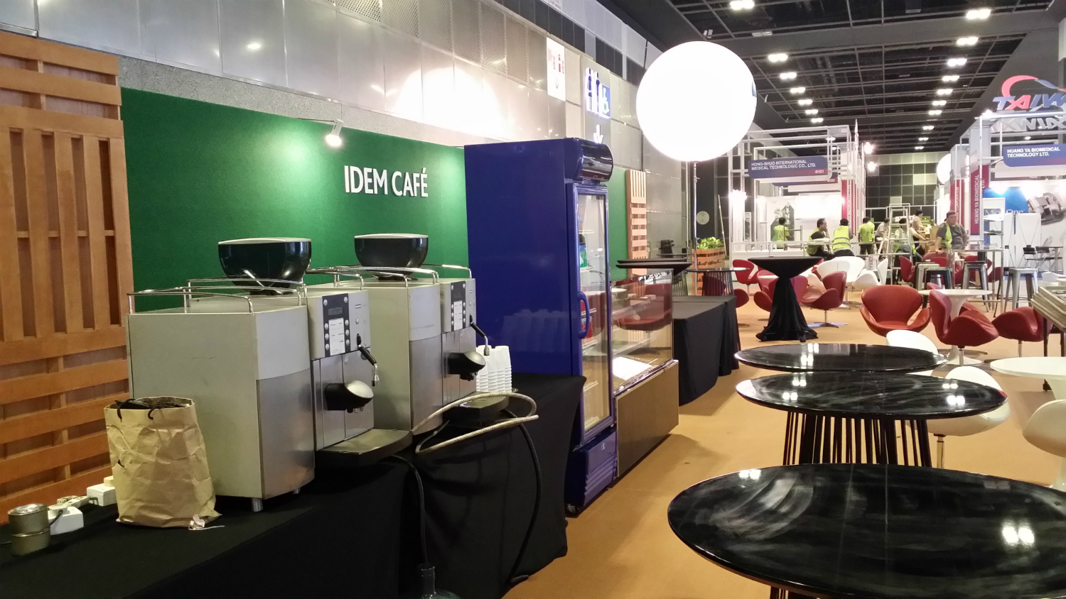 Coffee Bean Machine Rental @ Suntec Hall 403