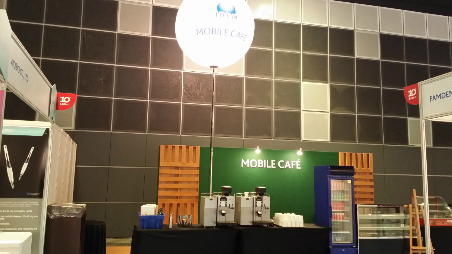 Coffee Bean Machine Rental @ Suntec Hall 405