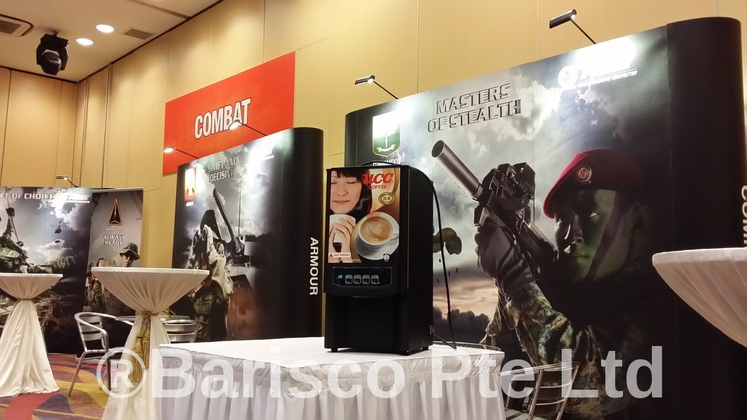 Safra Event for The Army - Rent a Coffee Machine in Singapore