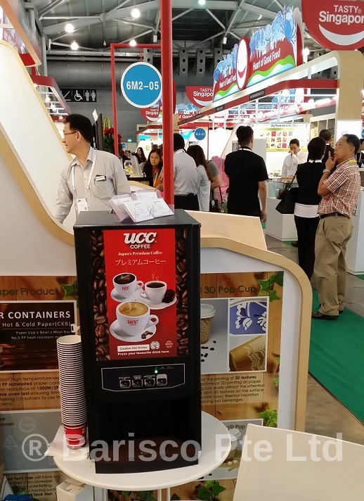 Coffee Machine Rental for exhibitions