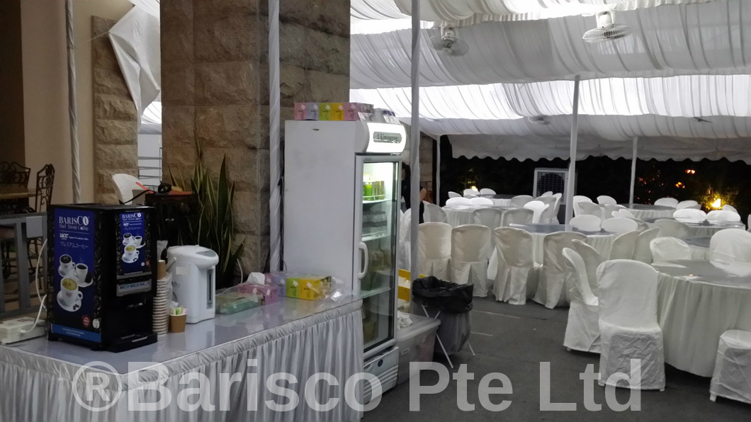 UCC Coffee Machine for a VIP funeral - 1 of 3 units rental