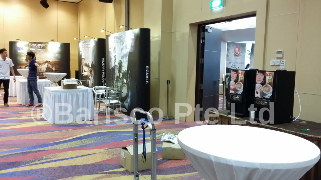 Rent a Coffee Machine - Safra Event for The Army