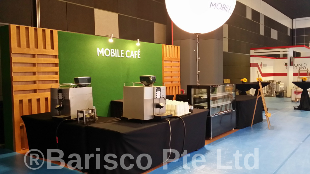 Coffee Bean Machine Rental @ Suntec Hall 401