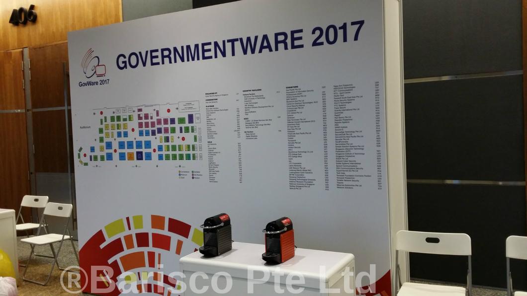 Espresso Coffee Machine Rental - Singapore GovernmentWare 2017