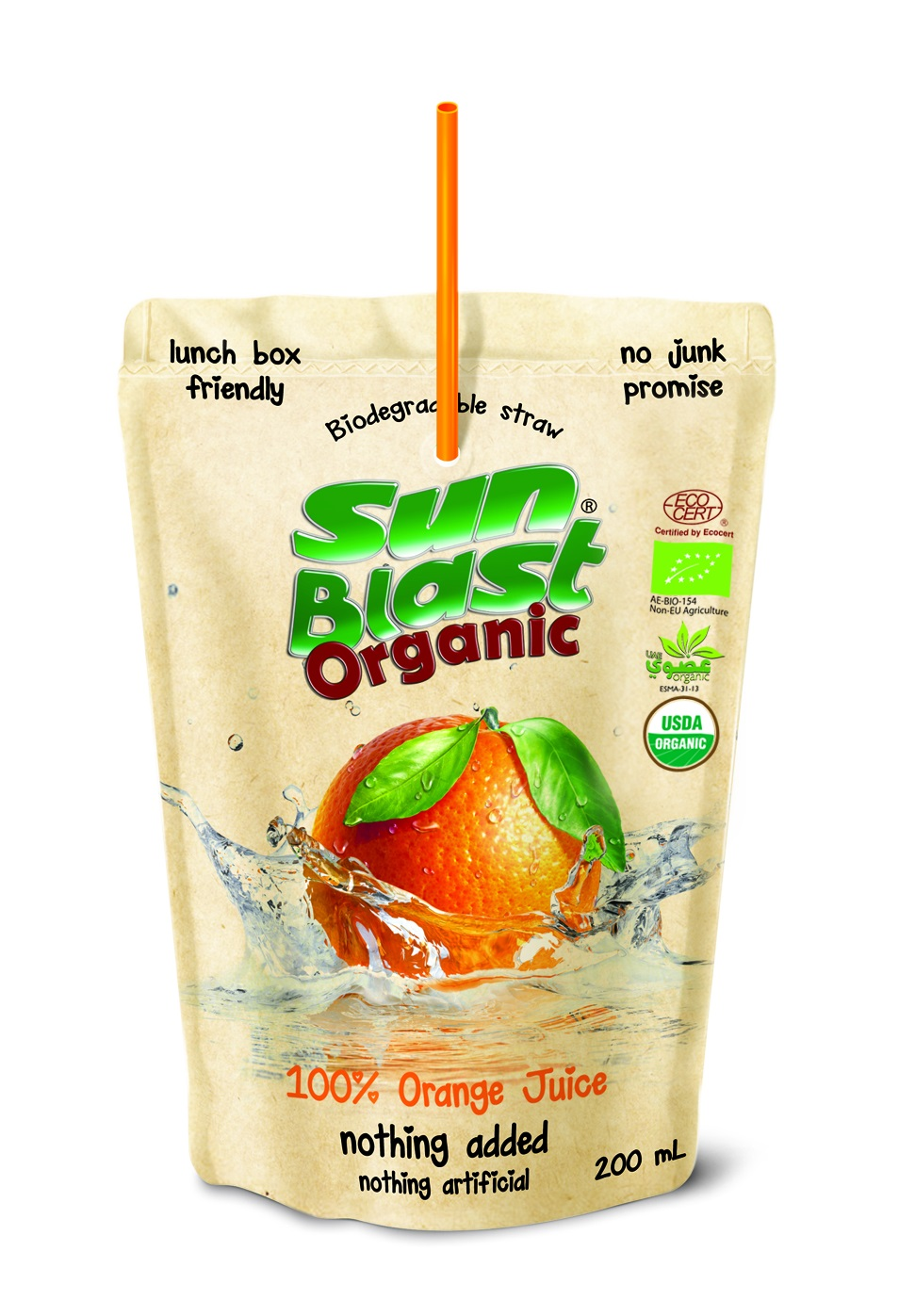 Organic 100% Orange Juice
