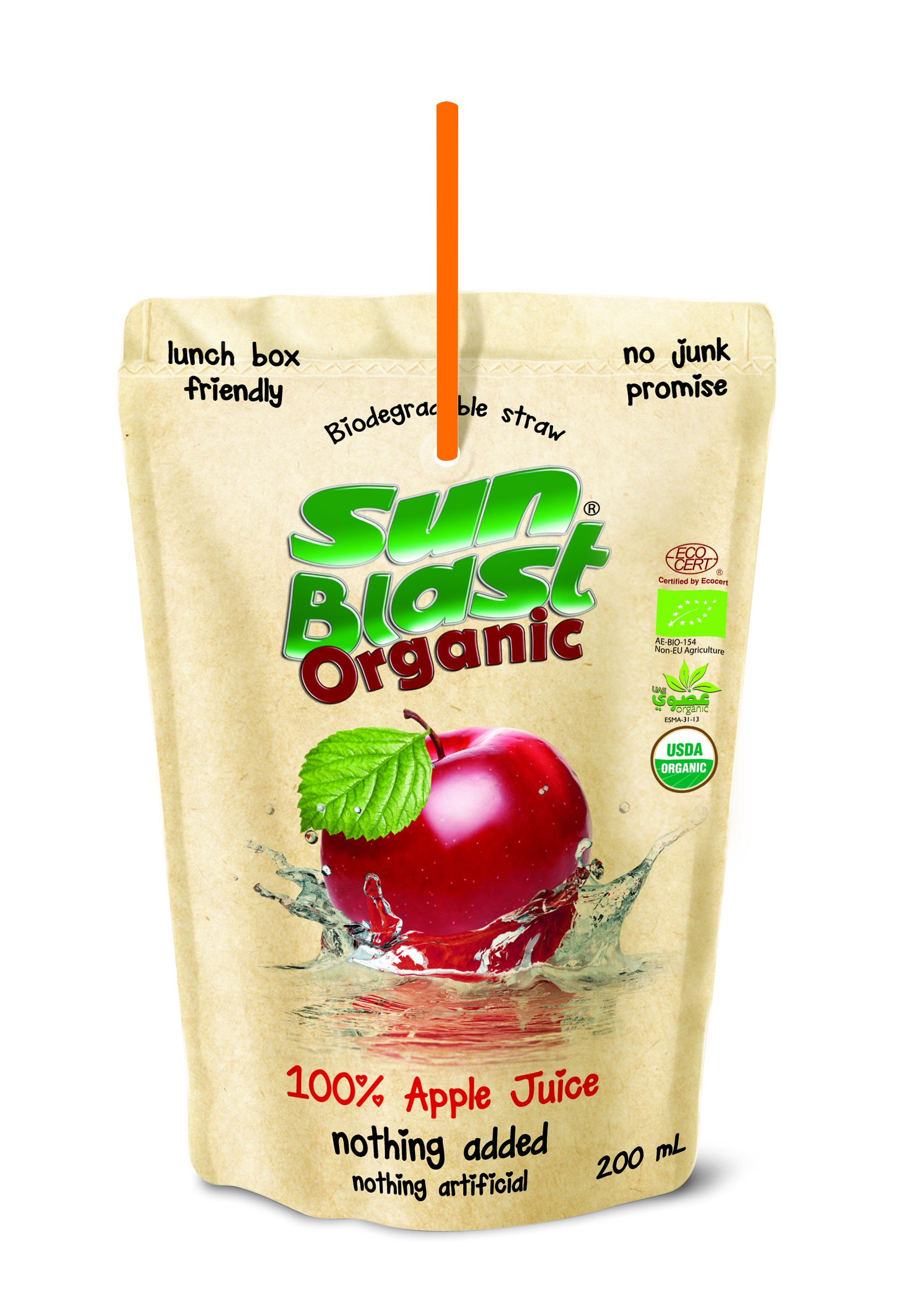 Organic 100% Apple Juice